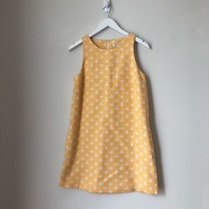 Alice + Olivia Yellow Circles A-line Dress